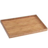 Cal-Mil 1367-12-60 19 inch x 11 3/4 inch Bamboo Tray