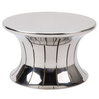 Vollrath 46015 Polished Stainless Steel 5 inch Hourglass Buffet Riser