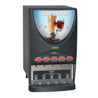 Bunn 38100.0010 iMIX-5S+ BLK Iced Coffee Dispenser with 5 Hoppers - 120V