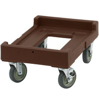 Cambro CD160131 Dark Brown Camdolly for Cambro Camcarriers