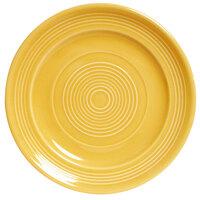 Tuxton Concentrix CWA-120 Saffron 12 inch China Plate 6/Case