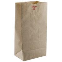 20 lb. Brown Paper Bag 500/Bundle