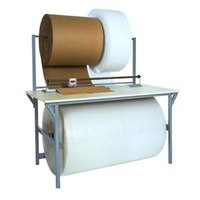 Bulman A692R 30 inch x 64 inch Packing / Dispensing Table without A690R Rotary Shear Cutter