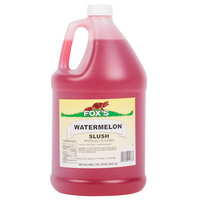 Fox's 1 Gallon Watermelon Slush Syrup   - 4/Case