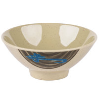 Wei 9 oz. Round Melamine Rice Bowl - 12/Case