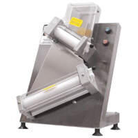 Doyon DL18DP Countertop 18 inch Dough Roller Sheeter - Two Stage, Diagonal Rollers