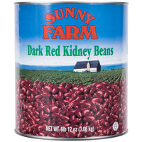 #10 Can Dark Red Kidney Beans   - 6/Case