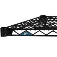 Metro 1872NBL Super Erecta Black Wire Shelf - 18 inch x 72 inch