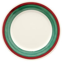 GET WP-7-PO Diamond Portofino 7 1/2 inch Wide Rim Plate - 48/Case