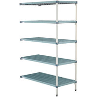 Metro 5AQ377G3 MetroMax Q Shelving Add On Unit - 18 inch x 72 inch x 74 inch