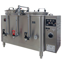 Grindmaster 7773(E) Twin 3 Gallon Automatic Mid Line Coffee Urn - 120/208V