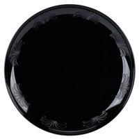 WNA Comet DWP6180BK 6 inch Black Plastic Designware Plate 18 / Pack