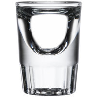 Libbey 5135 1.25 oz. Fluted Whiskey / Shot Glass - 12 / Pack