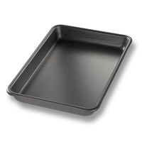 Chicago Metallic 41854 BAKALON Glazed Eighth-Size Aluminum Sheet Pan – 6 1/2 inch x 9 1/2 inch