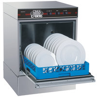 "CMA Dishmachines L-1X16 Undercounter Dishwasher Low Temperature 16"" Door Opening - No Heater, 115V"