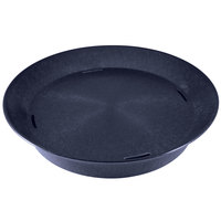 HS Inc. HS1059 14 inch Blueberry Polypropylene Round Deli Server - 24 / Case