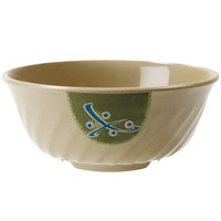 GET M-608-TD Japanese Traditional 48 oz. Fluted Bowl - 12/Case