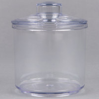7 oz. Plastic Condiment Jar with Lid