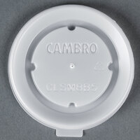 Cambro CLSM8B5190 Disposable Translucent Lid for Tumblers and Healthcare Bowls and Mugs- 1500 / Case