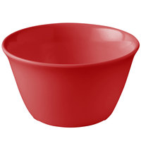 Carlisle 4386805 Red Dayton 8 oz. Bouillon Cup - 24/Case