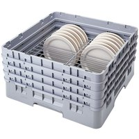 Cambro CRP20910151 Soft Gray Full Size PlateSafe Camrack 9-10 1/4 inch