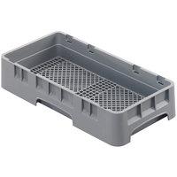 Cambro HFR258151 Soft Gray Half Size Camrack Flatware Rack