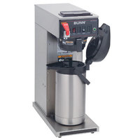 Bunn CWTF APS-DV Airpot Brewer with Black Plastic Funnel - Dual Voltage (Bunn 23001.0058)
