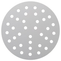 American Metalcraft 18907PHC 7 inch Perforated Pizza Disk - Hard Coat Anodized Aluminum