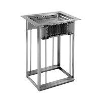 Delfield LT-1826 Drop In Single Pan Dispenser for 18 inch x 26 inch Sheet Pans
