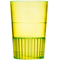 Fineline Quenchers 4115-Y 1.5 oz. Neon Yellow Hard Plastic Shooter Glass 500 / Case