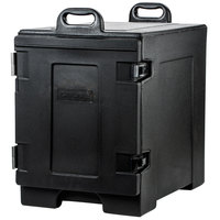 Carlisle PC300N03 Cateraide 16 3/4 inch x 24 inch x 25 inch Black Food Pan Carrier