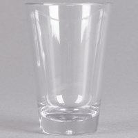 Carlisle 560307 Alibi 3 oz. SAN Plastic Shooter / Dessert Shot Glass - 24/Case