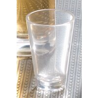 Carlisle 560307 Alibi 3 oz. SAN Plastic Shooter / Dessert Shot Glass - 24 / Case