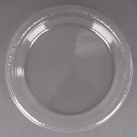 Creative Converting 28114121B 9 inch Clear Plastic Dinner Plate - 50 / Pack
