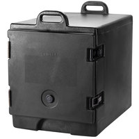 Cambro 300MPC110 Black Camcarrier Pan Carrier with Handles - Front Load for 12 inch x 20 inch Food Pans