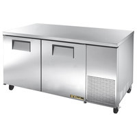 True TUC-67F 67 inch Extra Deep Undercounter Freezer with Two Doors