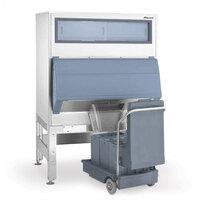 Follett DEV1650SG-60-125 60 inch Ice Storage Bin with 125 lb. Ice Cart - 1660 lb.
