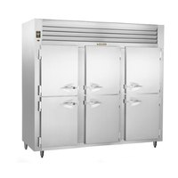 Traulsen ALT332NUT-HHS 69.5 Cu. Ft. Three-Section Solid Half Door Narrow Reach-In Freezer - Specification Line