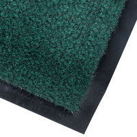 Cactus Mat 1437M-G46 Catalina Standard-Duty 4' x 6' Green Olefin Carpet Entrance Floor Mat - 5/16 inch Thick