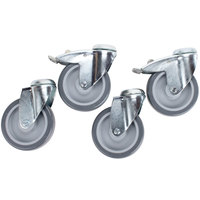 APW Wyott 0-999-002 5 inch Casters HDD, HDDS, HDX Series Countertop Drawer Warmers - 4 / Set