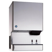 Hoshizaki DCM-500BWH-OS Opti-Serve Countertop Ice Maker and Water Dispenser - 40 lb. Storage Water Cooled