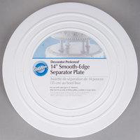 Wilton 302-4105 Decorator Preferred Round Smooth Edge Cake Separator Plate - 14 inch