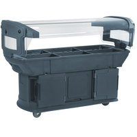 Carlisle 771159 Slate Blue 6' Maximizer Portable Food / Salad Bar