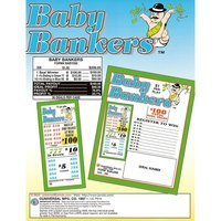 Baby Bankers 5 Window Pull Tab Tickets - 208 Tickets Per Deal - Total Payout: $160