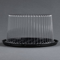 D&W Fine Pack G21 7 inch 2-3 Layer Cake Display Container with Clear Dome Lid - 10 / Pack