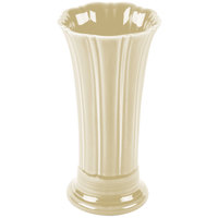 Homer Laughlin 491330 Fiesta Ivory 9 5/8 inch Medium Vase - 4 / Case