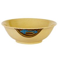Wei 22 oz. Round Melamine Rimless Bowl - 12/Case