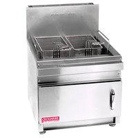 Cecilware GF-28 Liquid Propane 28 lb. Countertop Fryer with Baskets