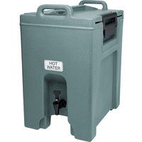 Cambro UC1000401 Ultra Camtainer 10.5 Gallon Slate Blue Insulated Beverage Dispenser