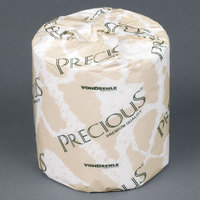 VonDrehle 8215 Precious Individually-Wrapped 2-Ply 500 Sheet Virgin Tissue - 96 / Case